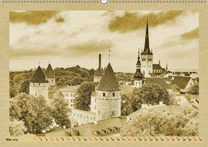 Tallinn - Ein Kalender im Zeitungsstil (Wandkalender 2019 DIN A2