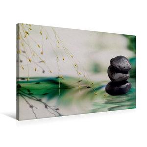 Premium Textil-Leinwand 75 cm x 50 cm quer Harmonie