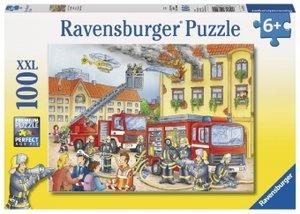 Unsere Feuerwehr. Puzzle 100 Teile XXL