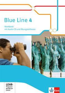 Blue Line. Workbook mit Audio-CD und Übungssoftware 8. Schuljahr