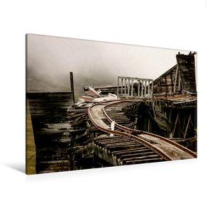 Premium Textil-Leinwand 120 cm x 80 cm quer Independence Mine am