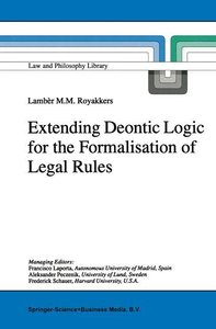 Extending Deontic Logic for the Formalisation of Legal Rules