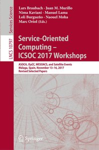 Service-Oriented Computing -- ICSOC 2017 Workshops