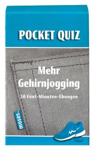Pocket Quiz Mehr Gehirnjogging