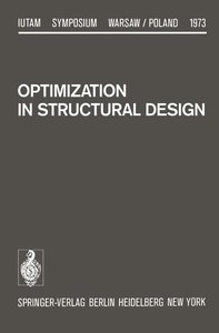 Optimization in Structural Design