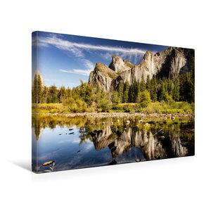 Premium Textil-Leinwand 45 cm x 30 cm quer Yosemite National Par