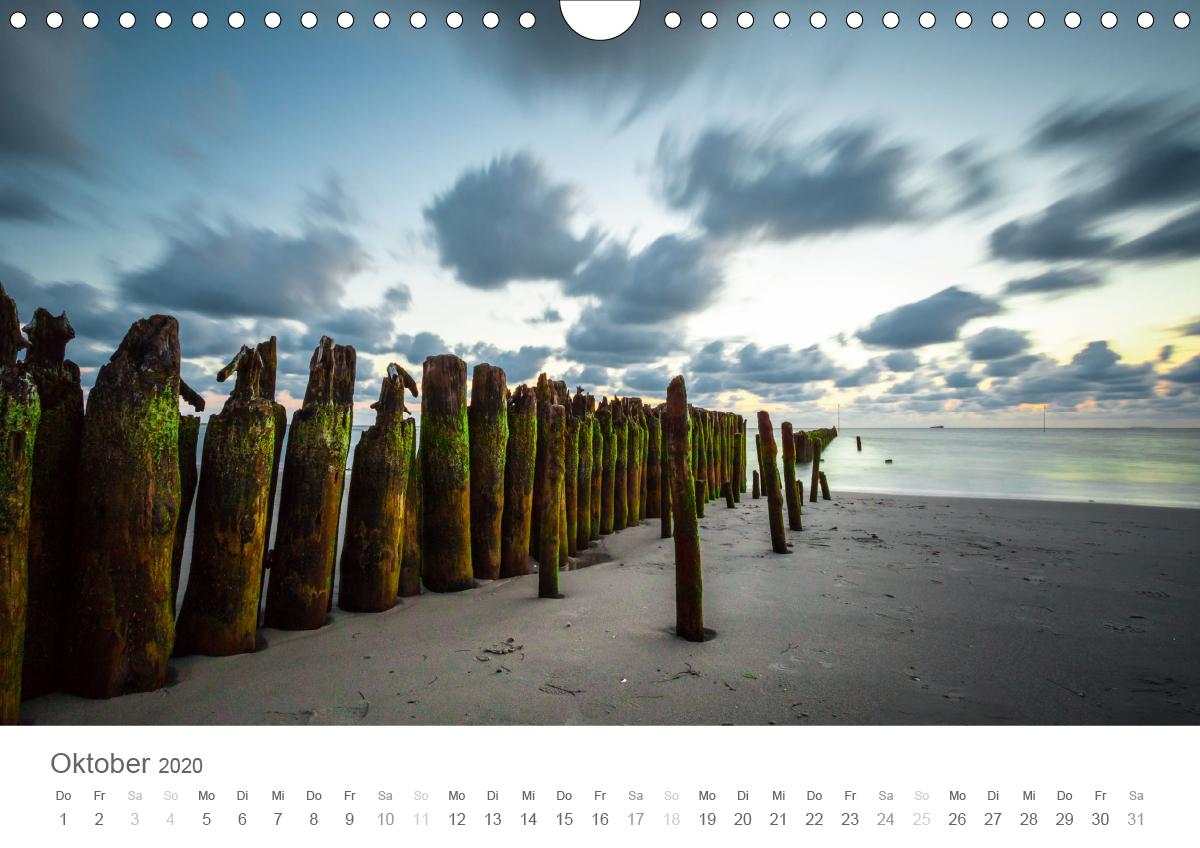 Nordfriesische Inselwelt - Bunte Watt- und Wolkenlandschaften - zum Schließen ins Bild klicken