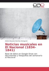 Noticias musicales en El Nacional (1834-1841)
