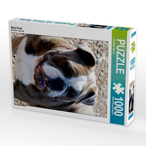 Blue Pearl 1000 Teile Puzzle hoch