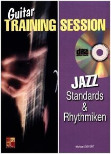 Guitar Training Session: Jazz Standards & Rhythmiken, mit Audio-