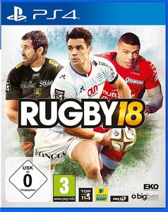 Rugby 18, PS4-Blu-ray-Disc