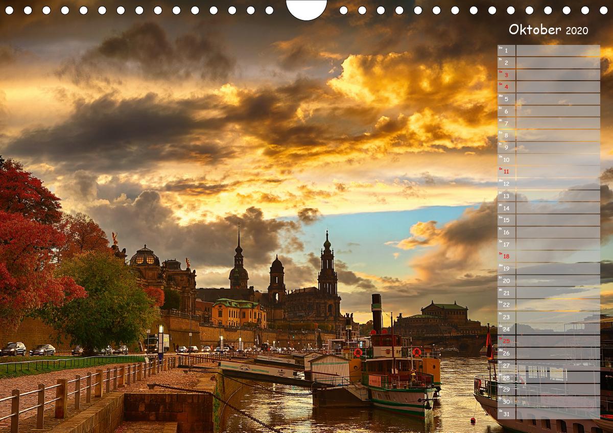 Dresden Impressionen 2020 / Geburtstagskalender - zum Schließen ins Bild klicken