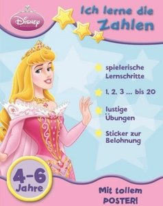 Disney: Lernen mit Sternen Prinzessinnen: Zahlen