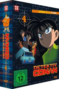 Detektiv Conan - TV-Serie - DVD Box 4 (Episoden 103-129) (5 DVDs
