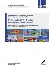 Hydrographie 2018 - Trend zu unbemannten Messsystemen