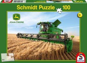 John Deere, Mähdrescher S690. Puzzle 100 Teile