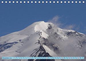 Wallis - Unterwegs im Saastal (Tischkalender 2019 DIN A5 quer)