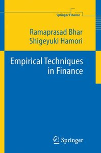 Empirical Techniques in Finance