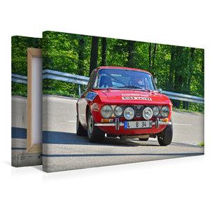 Premium Textil-Leinwand 45 cm x 30 cm quer Alfa Romeo GTV Bj.19