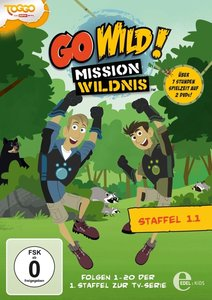 Go Wild! - Mission Wildnis. Staffelbox 1.1