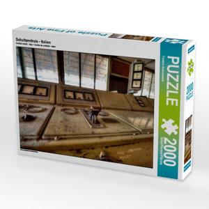 Schaltzentrale - Italien 2000 Teile Puzzle quer