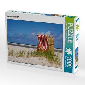 Strandkorb No. 337 1000 Teile Puzzle quer
