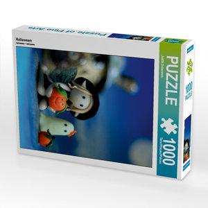Halloween 1000 Teile Puzzle hoch