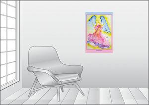 Premium Textil-Leinwand 50 cm x 75 cm hoch Ein Motiv aus dem Pos