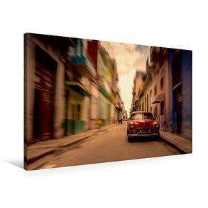 Premium Textil-Leinwand 90 cm x 60 cm quer Havanna