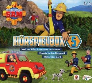 Feuerwehrmann Sam-Hörspiel Box 5