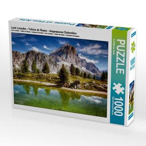 Lech Limedes - Tofane de Rozes - Ampezzaner Dolomiten 1000 Teile