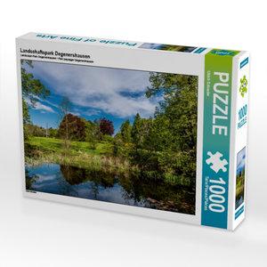 Landschaftspark Degenershausen 1000 Teile Puzzle quer