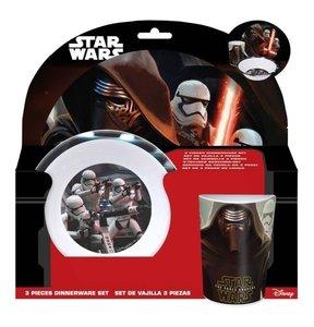 Star Wars 3tlg. Melaminset