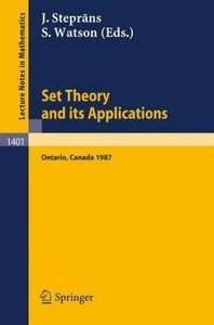 Set Theory and its Applications