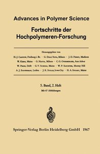 Advances in Polymer Science / Fortschritte der Hochpolymeren-For