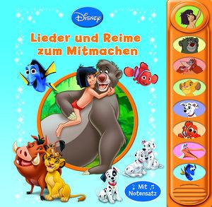 8-Button-Soundbuch Disney Klassik Lieder und Reime zum Mitmachen