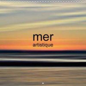 mer artistique (Calendrier mural 2015 300 × 300 mm Square)