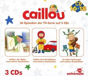 Caillou Hörspielbox 6 (CD 16-18)