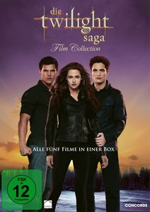 Die Twilight Saga 1-5 - Film Collection