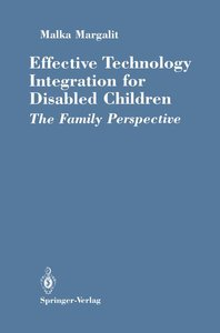 Effective Technology Integration for Disabled Children
