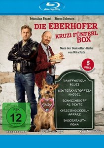 Die Eberhofer- Kruzifünferl Box, 5 Blu-ray