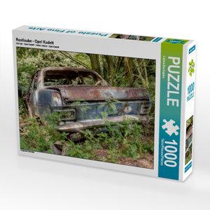 Rostlaube - Opel Kadett 1000 Teile Puzzle quer