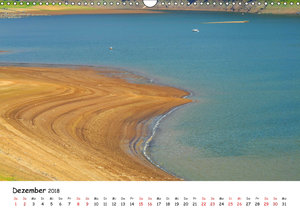 Edersee - Landschaftsformen bei Niedrigwasser