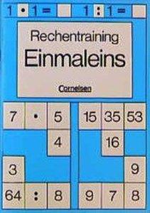 Rechentraining. Einmaleins