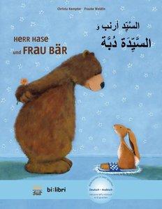 Herr Hase & Frau Bär. Kinderbuch Deutsch- Arabisch