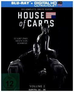 House of Cards. Season.2, 4 Blu-ray (Amaray)