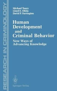 Human Development and Criminal Behavior