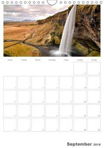 Faszination Island - Landschaftskalender mit Tagesplaner 2018 /