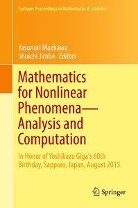 Mathematics for Nonlinear Phenomena - Analysis and Computation