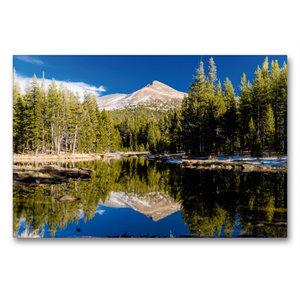 Premium Textil-Leinwand 90 cm x 60 cm quer Yosemite Nationalpark
